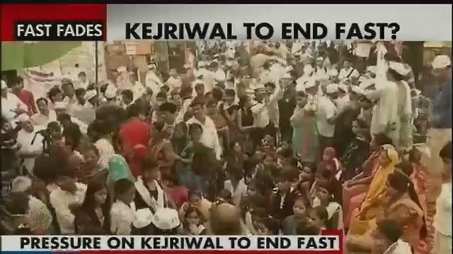 AAP leader Arvind Kejriwal to call off fast on Saturday