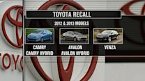 Toyota recalls more than 800K vehicles