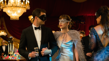 Monique Lhuillier Designs Slinky Silver Gown for 'Fifty Shades Darker'