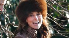 Kate Middleton wears gorgeous tweed coat