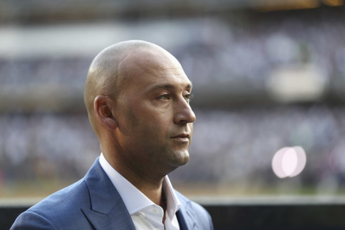 Derek Jeter still needs some more money if he wants the Marlins. (AP Photo)