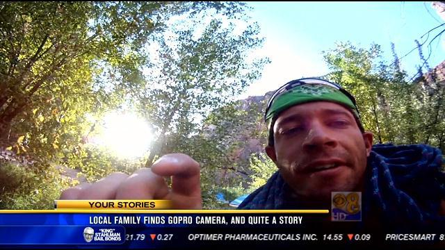 San Diego family finds GoPro camera, and quite a story
