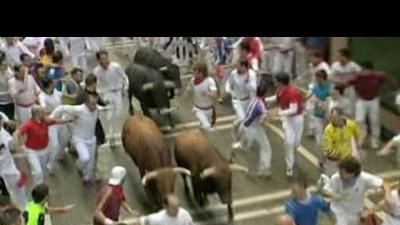 Day four of Pamplona's annual 'Running of the  ...