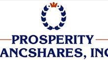 Prosperity Bancshares, Inc.® Invites You To Join Its First Quarter 2020 Earnings Conference Call