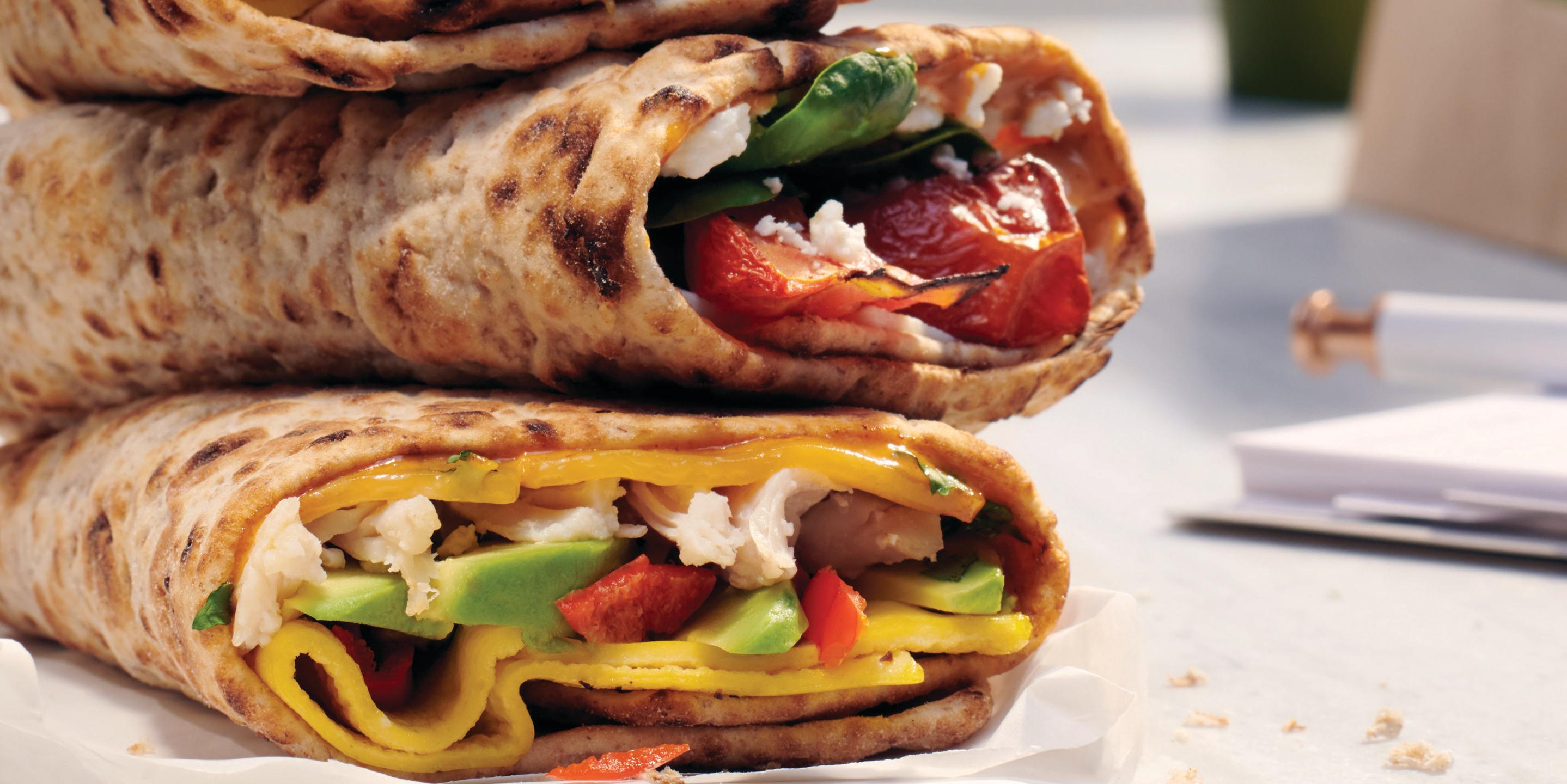 Move Over Bread-Sliced Bagels, Panera Added Three New Breakfast Wraps To The Menu