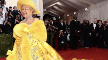 The Queen wearing Rihanna's most iconic outfits is everything