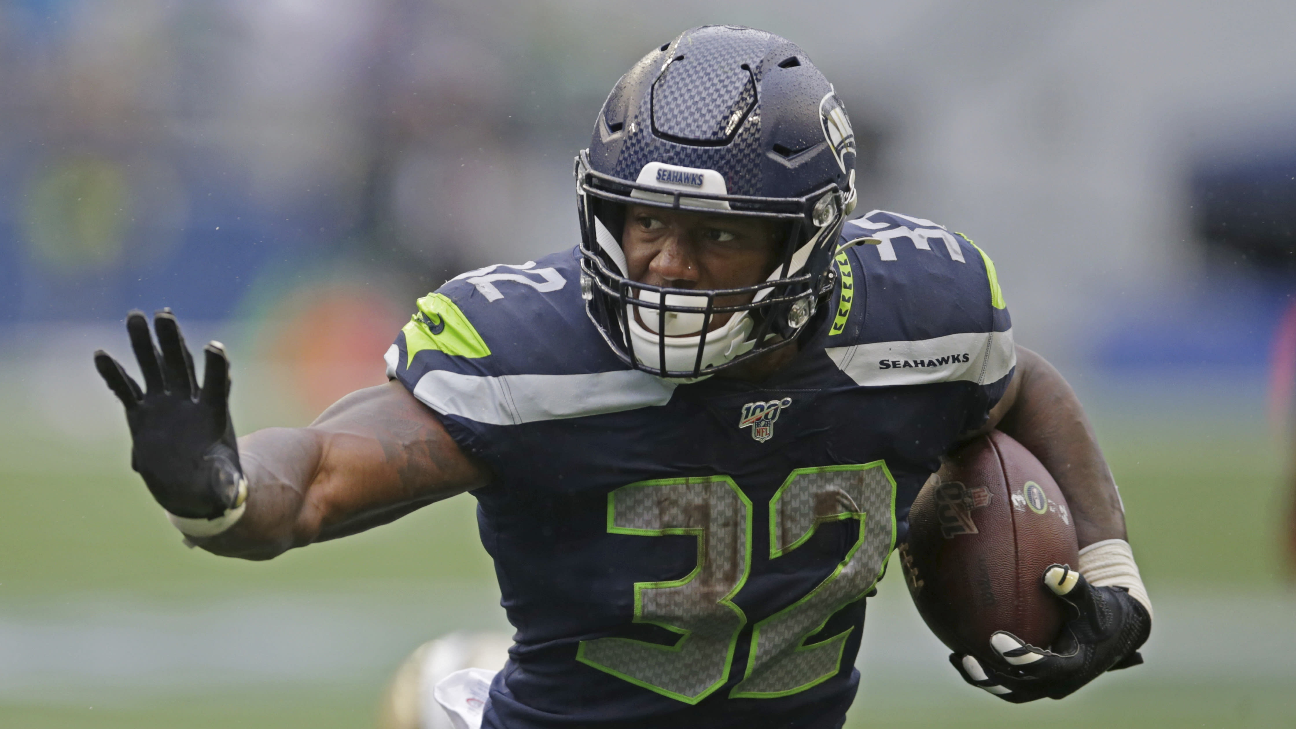 Chris Carson out for season before huge 49ers game