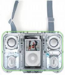 Atlantic launches waterproof EGO floating speaker system for iPod