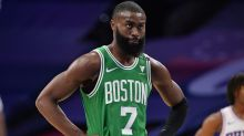 Did Celtics' Jaylen Brown troll Ben Simmons after crossing up Sixers star?