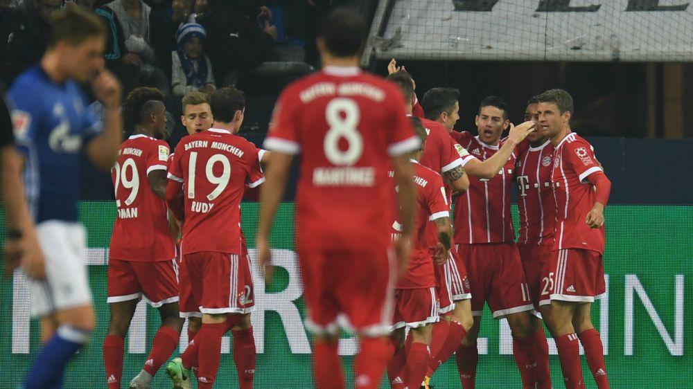 Bayern Munich festejó su triunfo con el gran aporte de James