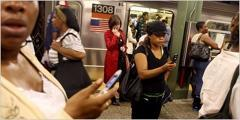 AT&T and T-Mobile will have cell coverage in NYC subway stations
