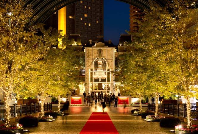 浪漫的惠比壽花園廣場,呈現充滿質感而典雅的聖誕風景!(圖片來源/gardenplace)