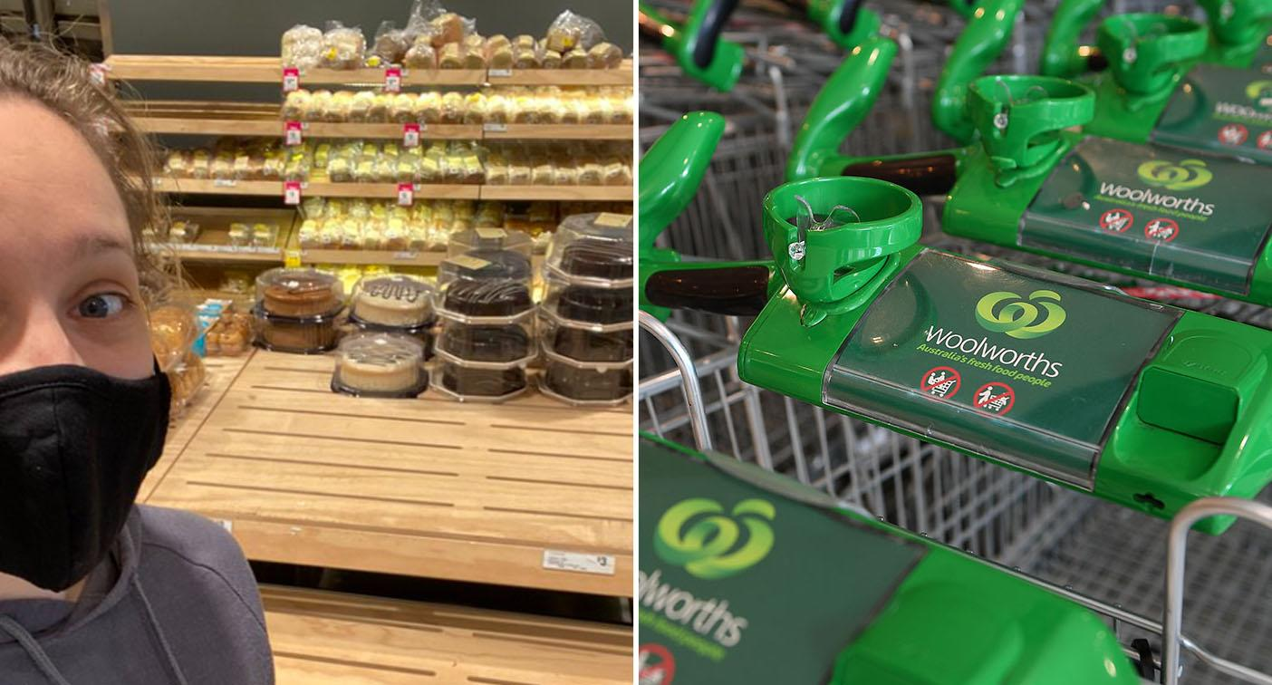 Bizarre item selling out at Woolworths after zero cases in Victoria