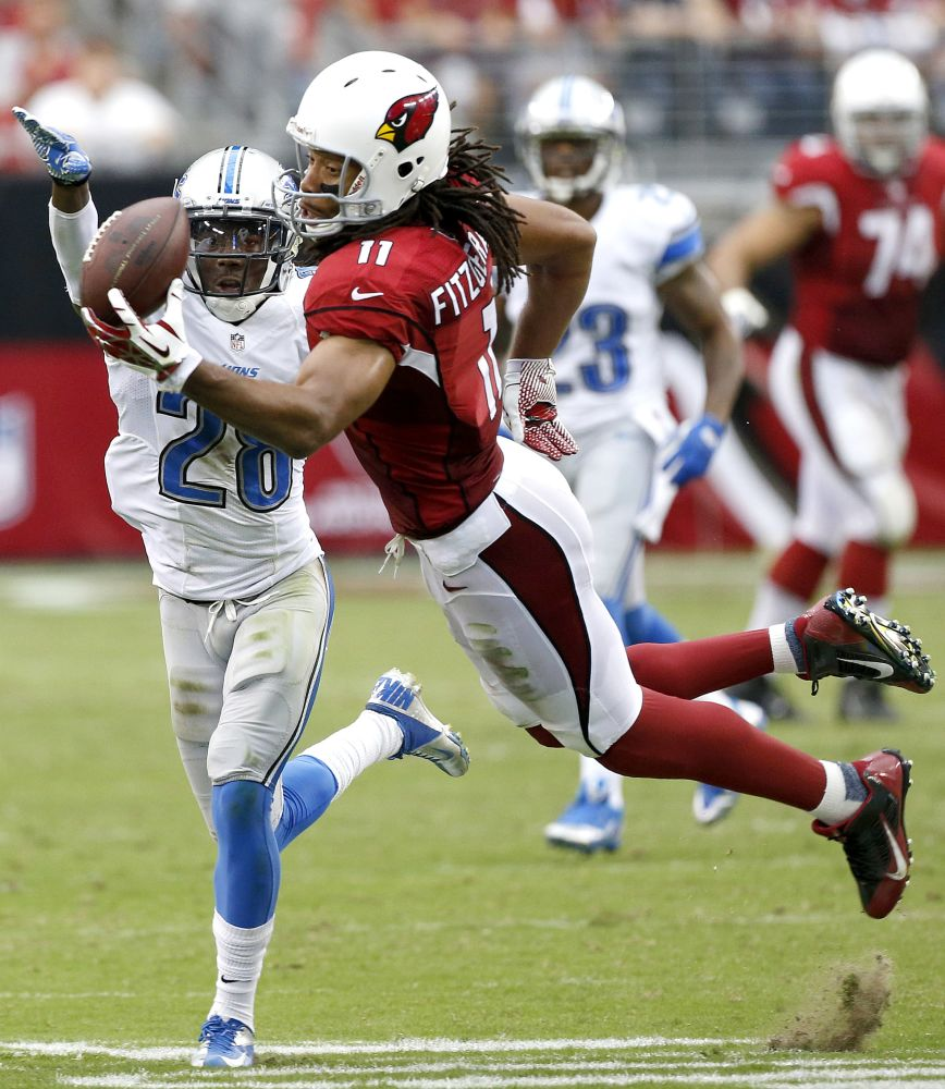 Cards' Fitzgerald, Mendenhall to play at Saints