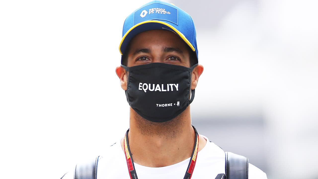 'Absolute superstar': Daniel Ricciardo's epic response to F1 mishap