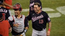 Nationals beat Blue Jays 4-0 in 10 in road game at home