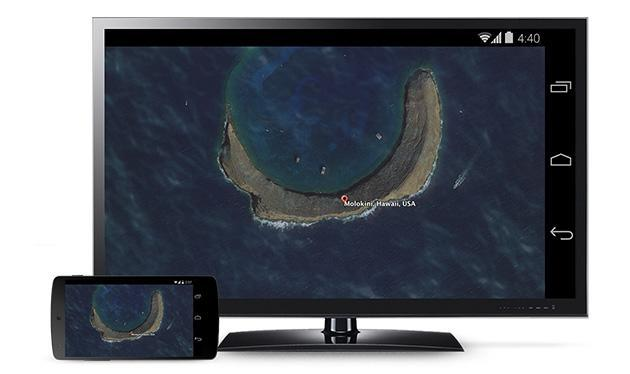Chromecast update lets you mirror your Android screen on a TV