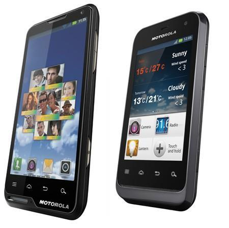Motorola launches MOTOLUXE and DEFY MINI Android sets (video)