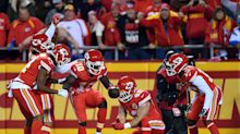 The Chiefs mimicked a pit stop after Tyreek Hill's TD vs. the Chargers