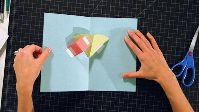 Pop-Up Cards and Crafts/ Basic Techniques / Layers on V-Folds