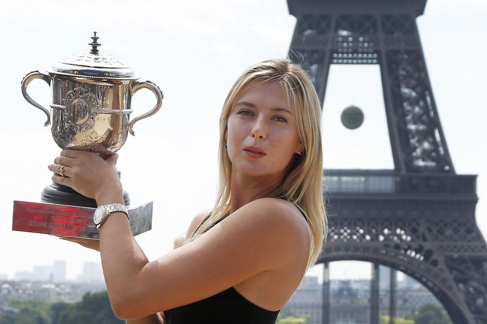 Sharapova signs with Avon for new fragrance