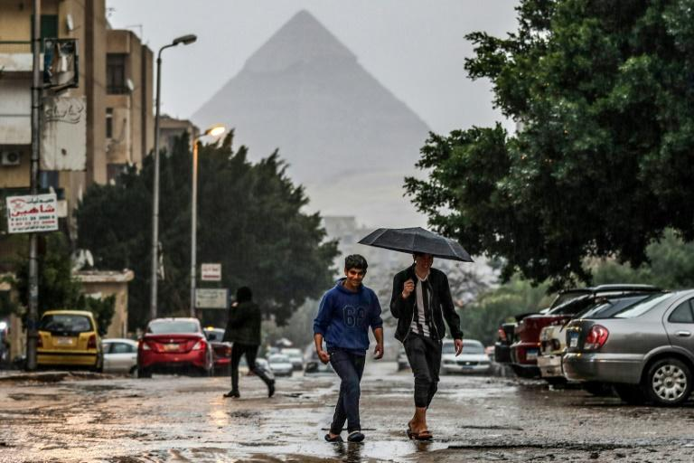 Stormy weather is forecast to lash Egypt until Saturday