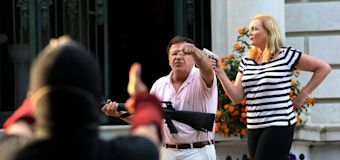 Gun-waving couple plead guilty, forfeit weapons