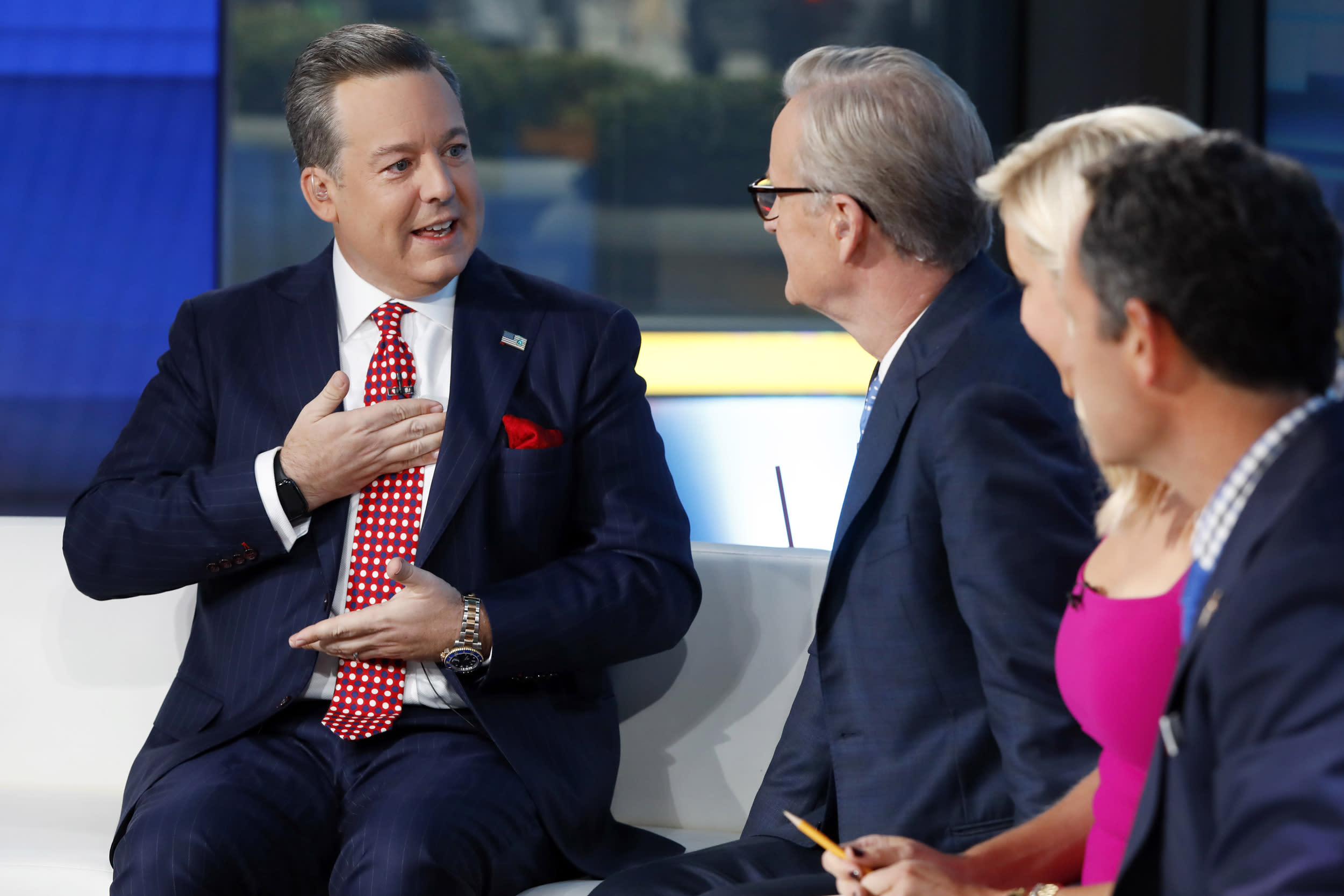 Fox News anchor Ed Henry fired over sexual misconduct allegation