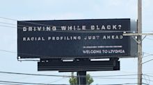 Michigan drivers met with startling billboard message: 'Driving while Black? Racial profiling just ahead'