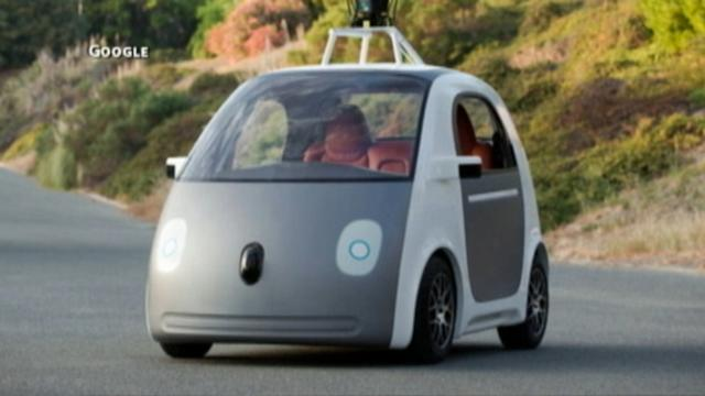 Google Car Loses the Driver's Seat