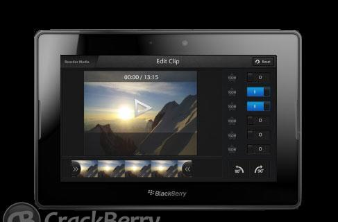 BlackBerry 10 to get video editor, screen sharing according to forum leak