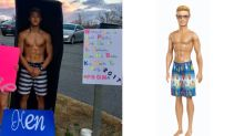 High School Student Dresses Up as a Ken Doll to Ask Date to Prom