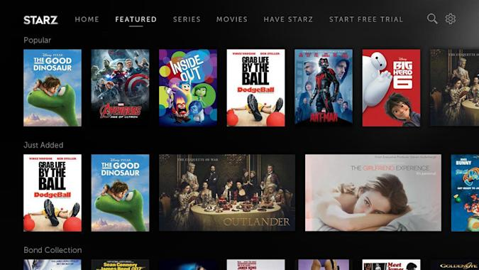 Starz brings its streaming video service to Roku players