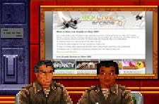 In the distant future, Wing Commander Arena for Xbox Live Arcade