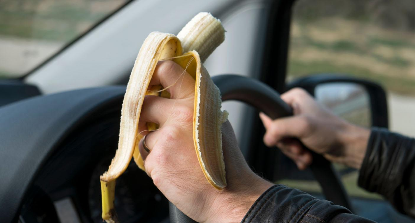 Why drivers could be fined for eating behind the wheel