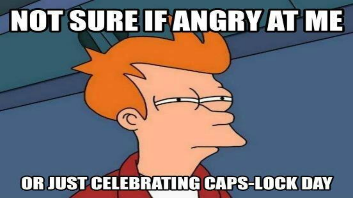 Photo of Caps Lock Day 2020 Funny Memes and Puns to Send Those Who Love Using The Capitalisation Key