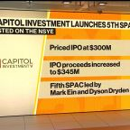 SPACs Are Top of Mind for Everyone, Says Capitol Investment CEO