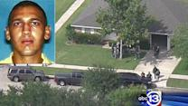 Shooting suspect commited suicide as marshals surrounded him