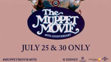 Make the Rainbow Connection Again as 'The Muppet Movie' Returns to the Big Screen in Honor of its 40th Anniversary on July 25 and 30