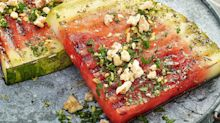 These grilled watermelon steaks are the perfect summer side dish