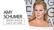 Recreate Amy Schumer's Golden Globes Beauty Look For Under $30 [Video]