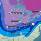 Snowstorms to be followed by Arctic outbreak in eastern half of nation