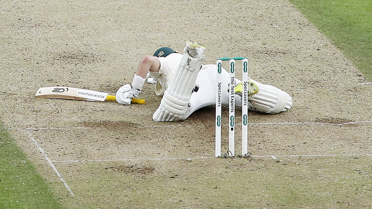 'Can you believe that': Aussie batsman's 'freak' dismissal stuns fans