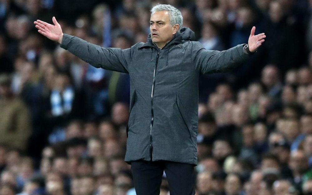 Jose Mourinho - the persecuted one - PA