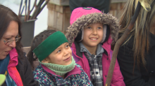 Cold City, Warm Hearts: Newcomer kids get dose of winter fun at FortWhyte winter party