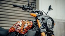 Tapping street artists for street racer, Indian unveils limited-edition tank covers (gallery)