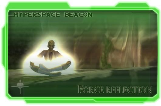 Hyperspace Beacon: Force reflection