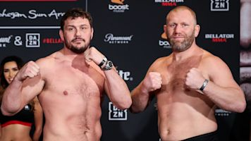 Kharitonov TKOs Mitrione at Bellator 225