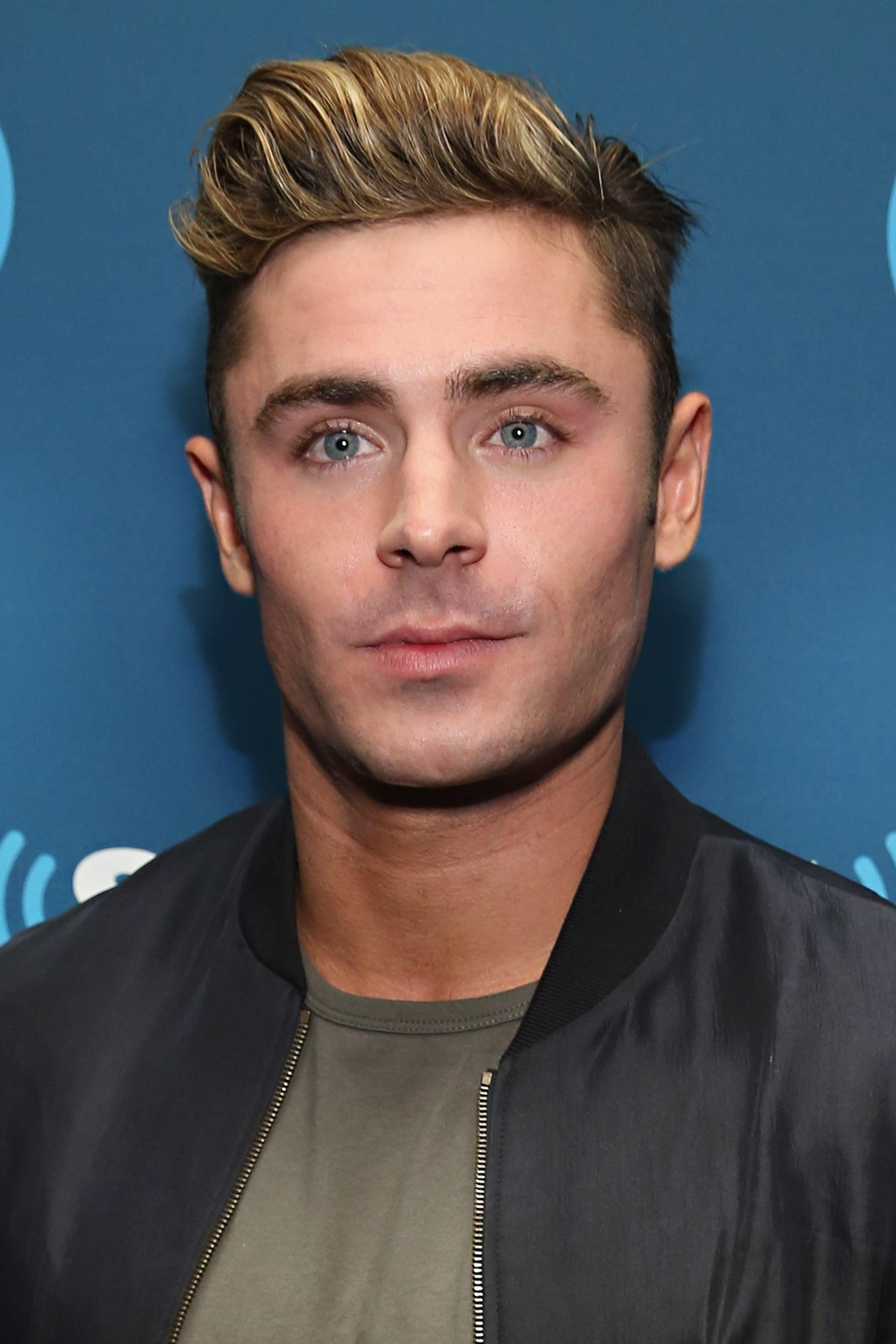 Zac Efron's Bleached H...