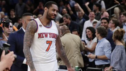 Report: Melo may be open to Cavs trade